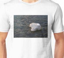 Icy Island - Drifting Solo on Silky Grays Unisex T-Shirt