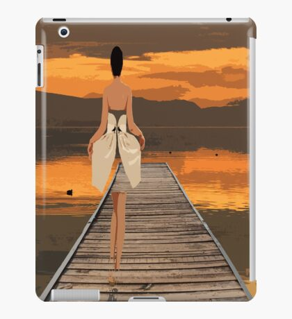 The girl with magical dress. iPad Case/Skin