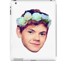 Thomas Brodie-Sangster Flower Crown iPad Case/Skin