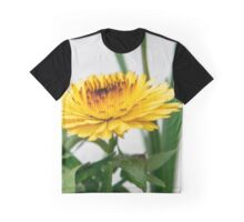 Yellow flower Graphic T-Shirt