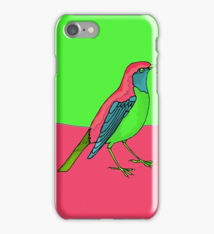 Neon Bird iPhone Case/Skin