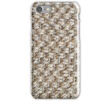 texture fibers raffia iPhone Case/Skin