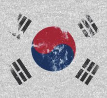 Flag of South Korea Kids Tee