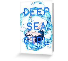 Deep Sea Girl - Hatsune Miku Greeting Card
