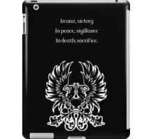 Grey Warden Motto Dragon Age iPad Case/Skin