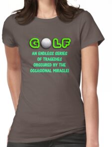 Golf! 2 Womens Fitted T-Shirt