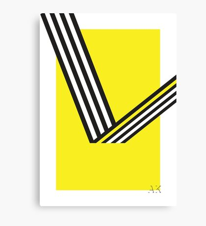 Geometric Construction 01 Canvas Print