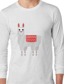 Meet the lama Long Sleeve T-Shirt