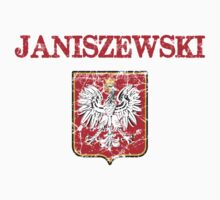Janiszewski Surname Polish Kids Clothes