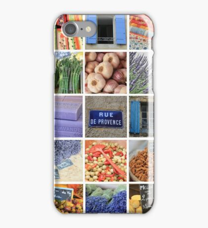 Collage de Provence by ProvenceProvence iPhone Case/Skin