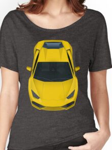 Yellow supercar Women's Relaxed Fit T-Shirt
