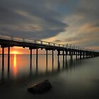 Sunset at Grantville Jetty by Jim Worrall