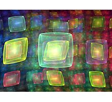 Cube Central Photographic Print
