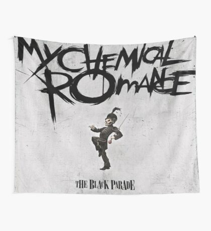 The Black Parade Flag Wall Tapestry
