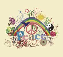 Peace - Colorful Mash-up T-Shirt
