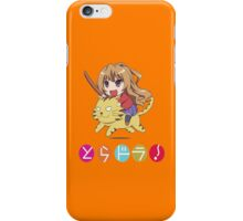 Tagia on Tiger iPhone Case/Skin
