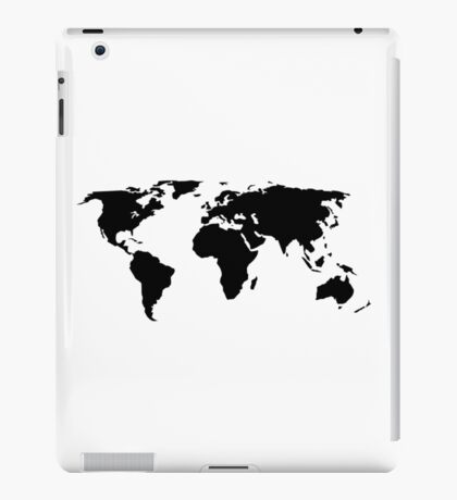 Weltkarte - Welt - Erde iPad Case/Skin