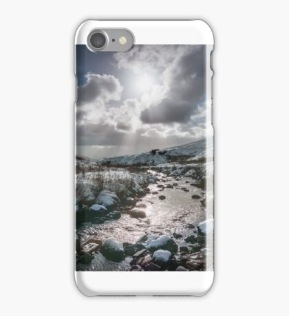 Winter in the Brecon Beacons, Wales. iPhone Case/Skin