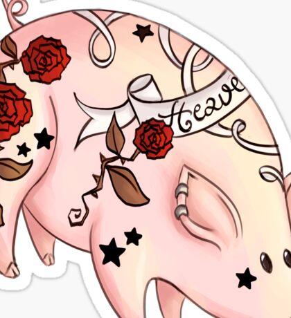 Tattoo Pig Sticker