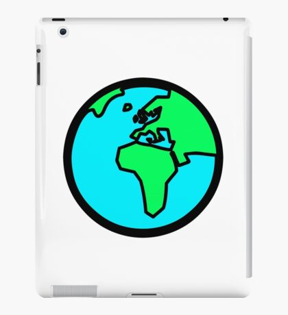 Globus - Welt - Erde iPad Case/Skin