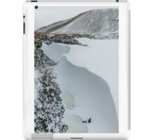 Snow Drift in the Brecon Beacons iPad Case/Skin