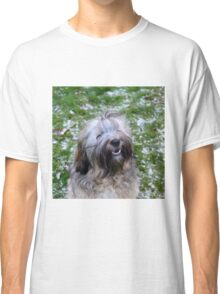 Digby in Snow Classic T-Shirt