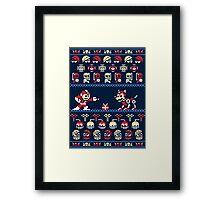 Christmas Man Framed Print