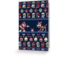 Christmas Man Greeting Card