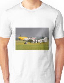 Mustang, Buttercups, Sunshine and Shower Unisex T-Shirt