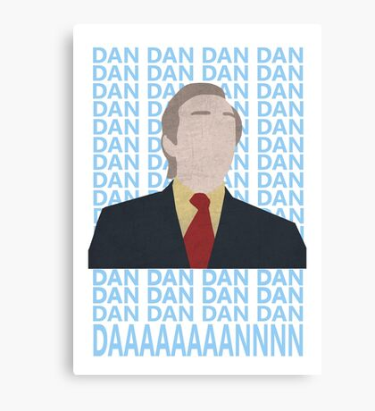 Alan Partridge Dan Dan Dan Daaaaan Canvas Print