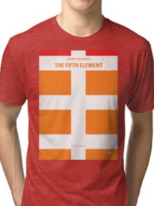 No112 My Fifth Element minimal movie poster Tri-blend T-Shirt
