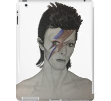 David Bowie Tribute Drawing iPad Case/Skin