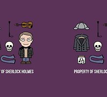 Property of Sherlock Holmes (mug) by redscharlach