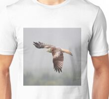 Red Kite in flight Unisex T-Shirt