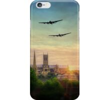 Lancaster Flyby Lincoln Cathedral iPhone Case/Skin
