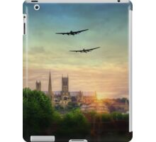 Lancaster Flyby Lincoln Cathedral iPad Case/Skin