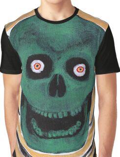 Happy Skull Graphic T-Shirt