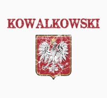Kowalkowski Surname Polish Kids Clothes