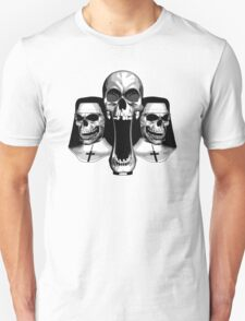 Priest With Nuns Skulls T-Shirt