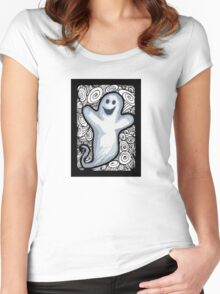 Ghostage Women's Fitted Scoop T-Shirt