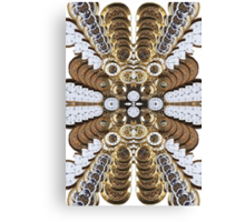 Trippy Pocket Watches Canvas Print