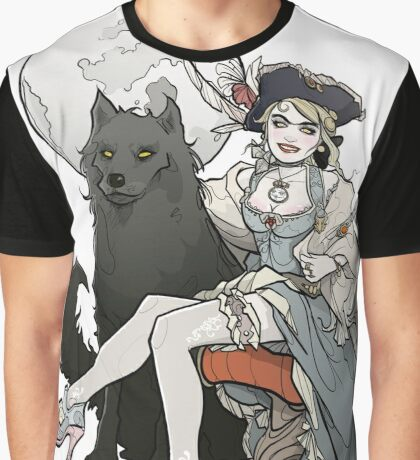 She-Wolf Graphic T-Shirt