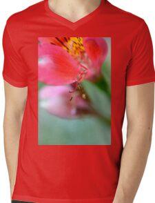 Alstroemeria  Mens V-Neck T-Shirt