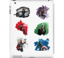 The Avengers + Watercolours iPad Case/Skin