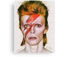 David Bowie, Music Legend Canvas Print