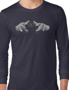 GREY GREAT PUPPETEER Long Sleeve T-Shirt