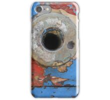 Peeled paint and rust iPhone Case/Skin