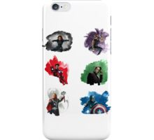 The Avengers + Watercolours iPhone Case/Skin
