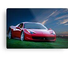 2014 Ferrari 458 Spyder Metal Print