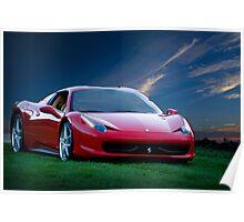 2014 Ferrari 458 Spyder Poster